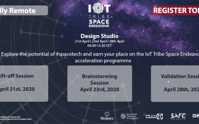 IoT Tribe calls for technology start-ups to explore the potential of Space Tech and join their world-leading accelerator