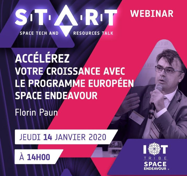 The START Webinar (Space Tech and Resources Talk)