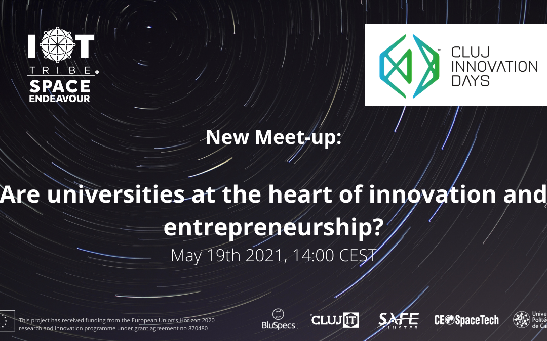 Online Meetup: Are universities at the heart of innovation and entrepreneurship?